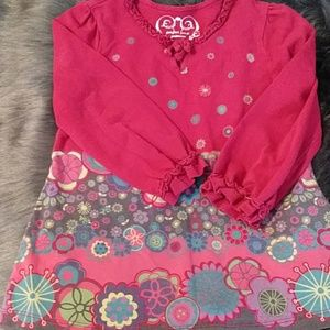Perfect For A Princess 3/4 sleeve top 3T